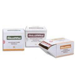 "Millenia Acupuncture Needles .16Mm, #40, .5"" Detox"