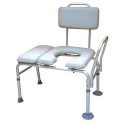 Drive Combo Padded Transfer Bench And Commode