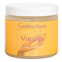 Soothing Touch Salt Scrub 20oz Vanilla