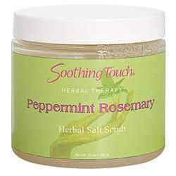 Soothing Touch Salt Scrub 20oz Peppermint Rosemary