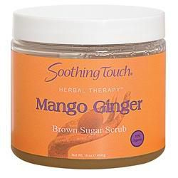 S.T. Brown Sugar Scrub Mango Ginger 16oz