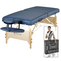 Master® Massage Equipment 30' Coronado™ LX Portable Massage Table Package Royal Blue