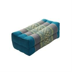 Thai Positioning Pillow Teal/Gray