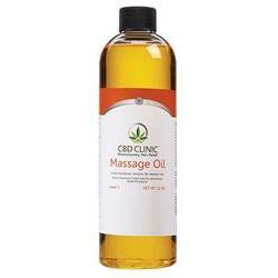 Cbd Infused Massage Oil Level 3 12 Oz