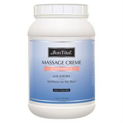 Bon Vital' Deep Tissue Massage Creme 1 Gallon