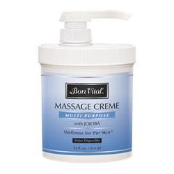 Bon Vital' Multi Purpose Massage Creme 14 oz
