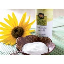 Lotus Touch Organic Naturals™ Massage Lotion - Ideal for Deep Tissue Massage