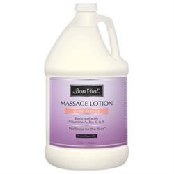 Bon Vital Deep Tissue Massage Lotion 1 Gallon