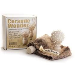 Ceramic Wonder® Reflex Massage Body Globes White
