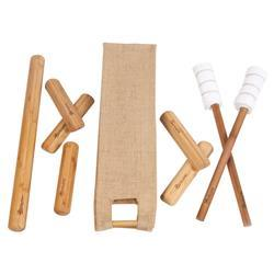 Chair Bamboo Stick Set with Chair Version DVD