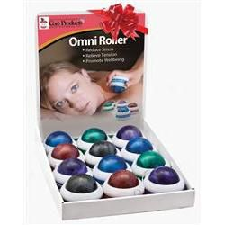Omni Roller Buy 10 Get 2 Free + Display Pack: White Caps with Assorted Colors