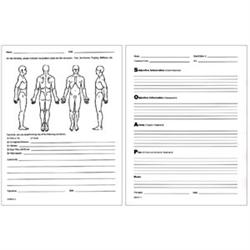 free massage soap notes template - soap notes patient client visit forms for sale pack of 100