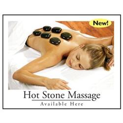 "Poster ""Hot Stone Massage"" Available Here New #12"