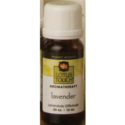 Lotus Touch Organic French Lavender Essential Oil 10 Ml