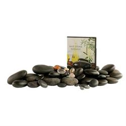 Deluxe Hot Stone Set With Chakra and DVD