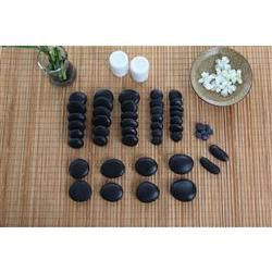 Stone Massage 50 Piece Set with Manual and DVD