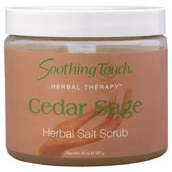Soothing Touch® Salt Scrub Cedar Sage 20 oz.