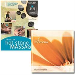 Art Of Hot Stone Massage Dvd With 'Serena' Cd
