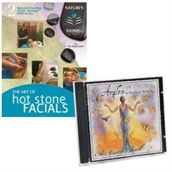Hot Stone Facial Dvd With 'Avalon' Cd