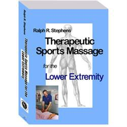 R. Stephens Sports Massage For Lower Extremity Dvd
