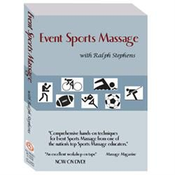 R. Stephens Event Sports Massage Dvd