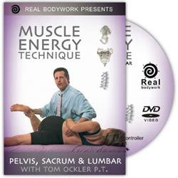 Pelvis, Sacrum & Lumbar Muscle Energy Tech Dvd