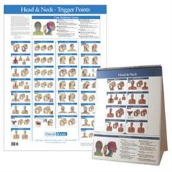 Buy Kent Trigger Point Charts Head Amp Neck