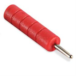 Banana To Pin Adapter, Red