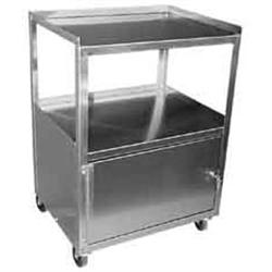 "Stainless Steel Cabinet Cart 16""X21""X30"""