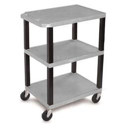 34' Shelf Cart - Gray