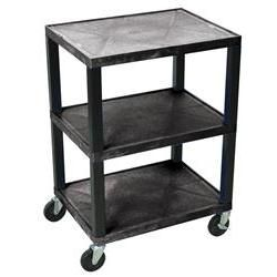 Luxor Tuffy Multi-Purpose 3 Shelf Mobile Cart
