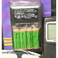 4 Aa Recharge Batteries W/Charger For Ultima Tens