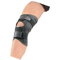 DermaDry Wraparound Knee Support With Hinges