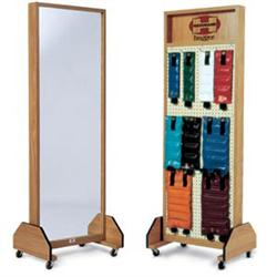 Combo Mirror- Weight Rack