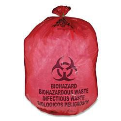 10 Gallon Infectious Waste Bags - 100/Box