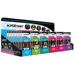 Kinesio® Tex Pre-Cut Application Starter Set W/Display