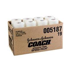 Johnson & Johnson 2' Coach Tape- 24 Rolls/Box