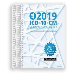 Buy Chirocode 174 2019 Icd 10 Cm Coding For Chiropractic