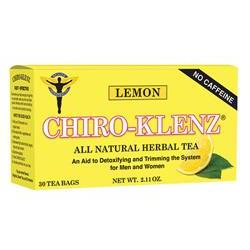 Chiro-Klenz® Tea Lemon Yellow 30 Packets Per Box