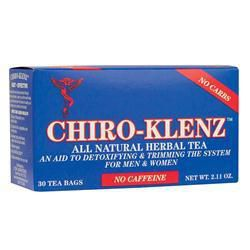 Chiro-Klenz Tea Regular Blue Box 30 Packets