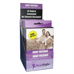 Mendright Glucosamine-Chondroitin-Cmo Join Patch Retail Display Package