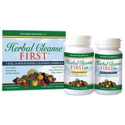 Herbal Cleanse First- Day & Night Spprt, 7Day Sply