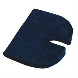 Relaxobak Covered Comfort Cushion - Dark Blue - Orthopedic Seat Cushion