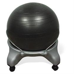 Cando Exercise Ball Chair W/Locking Castors