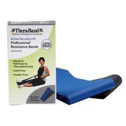 Thera-Band® Latex-Free Professional Resistance Bands: Advanced Kit