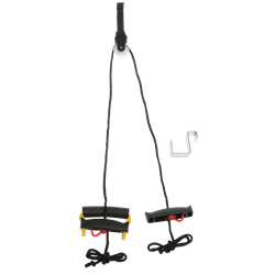 Lifeline Multi-Use Shldr Pulley W/Door Attachment
