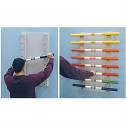 Wall Mount Ladder Bar Rac