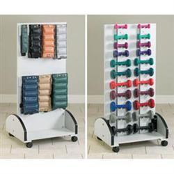 Mobile Cuff Weight & Dumbbell Rack