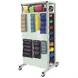 Combo Weight Storage Rack-Mobile 500# Cap