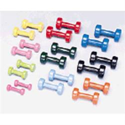 Vinyl Dumbbell Set 1-10Lbs 1 Pair Per Weight